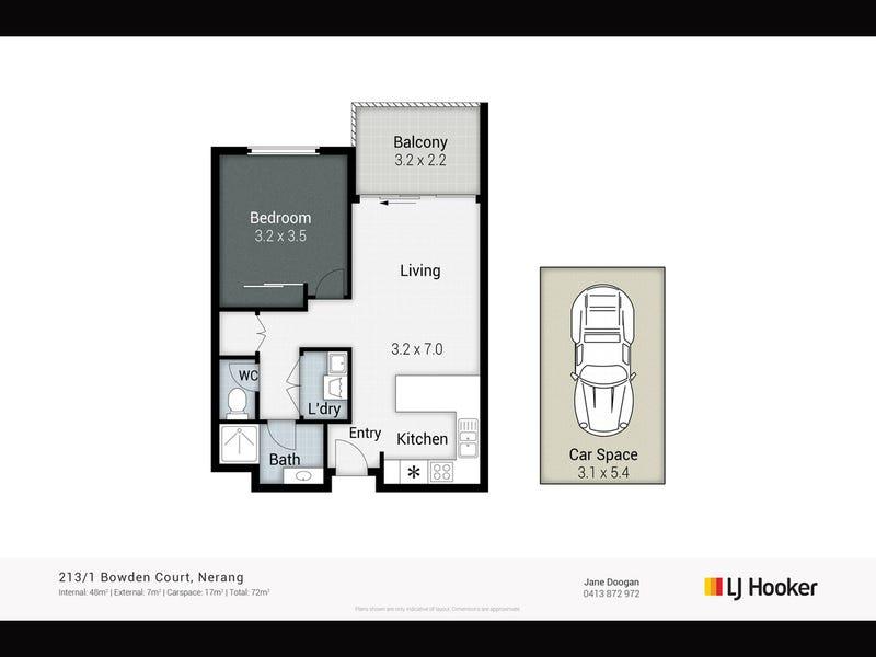 213/1 Bowden Court, Nerang, Qld 4211 - floorplan