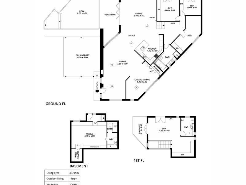 17 The Common, Beaumont, SA 5066 - floorplan