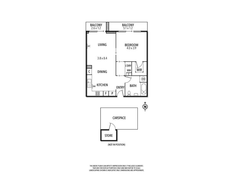 2.02/408 Lygon Street, Brunswick East, Vic 3057 - floorplan