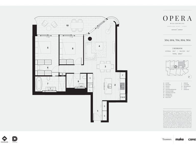 804/71 Macquarie Street, Sydney, NSW 2000 - floorplan