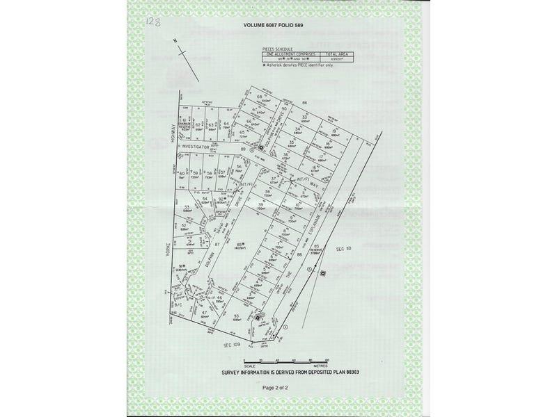 Lot 3, 5 Esplanade, Marion Bay, SA 5575 - floorplan