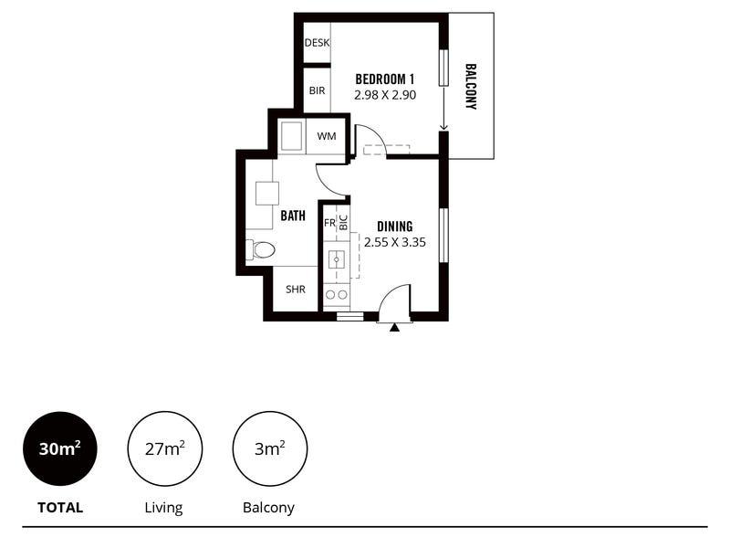 205/235-237 Pirie Street, Adelaide, SA 5000 - floorplan