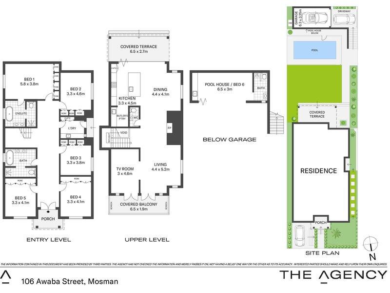 106 Awaba Street, Mosman, NSW 2088 - floorplan