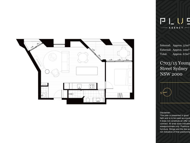 C703/15 Young Street, Sydney, NSW 2000 - floorplan