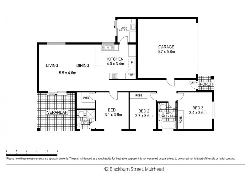 42 Blackburn Street, Muirhead, NT 0810 - floorplan