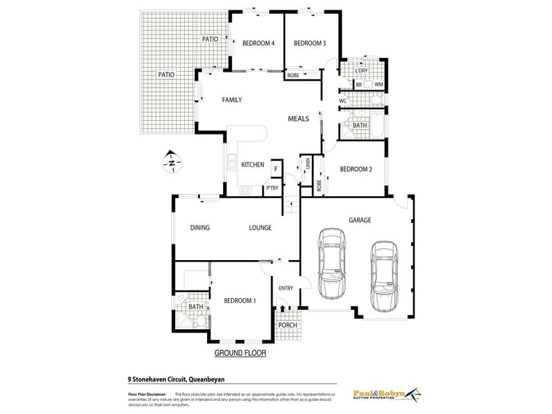 9 Stonehaven Circuit, Queanbeyan East, NSW 2620 - floorplan