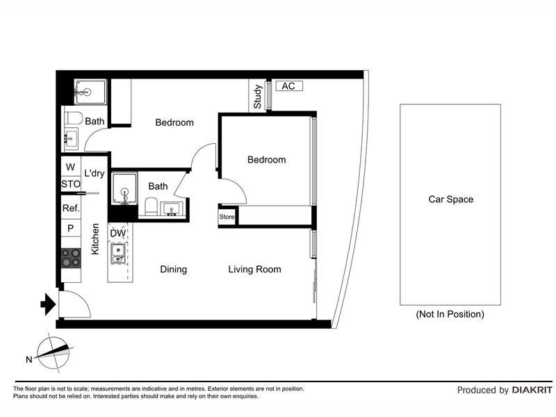 411/443 Upper Heidelberg Road, Ivanhoe, Vic 3079 - floorplan