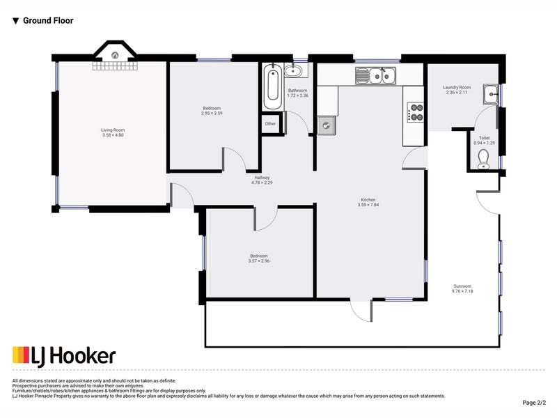 19 South Crescent, Maydena, Tas 7140 - floorplan