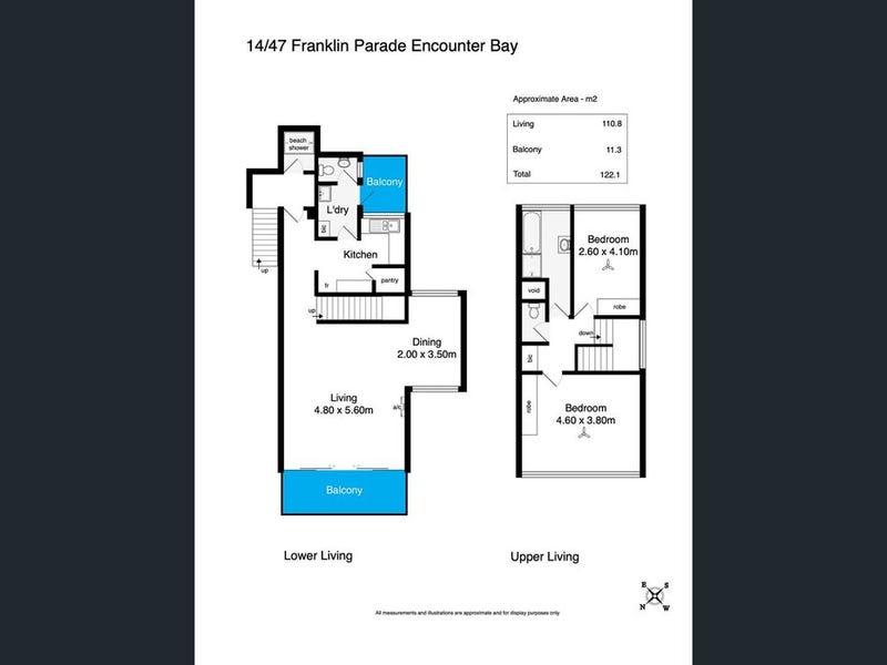 14/47-48 Franklin Parade, Encounter Bay, SA 5211 - floorplan