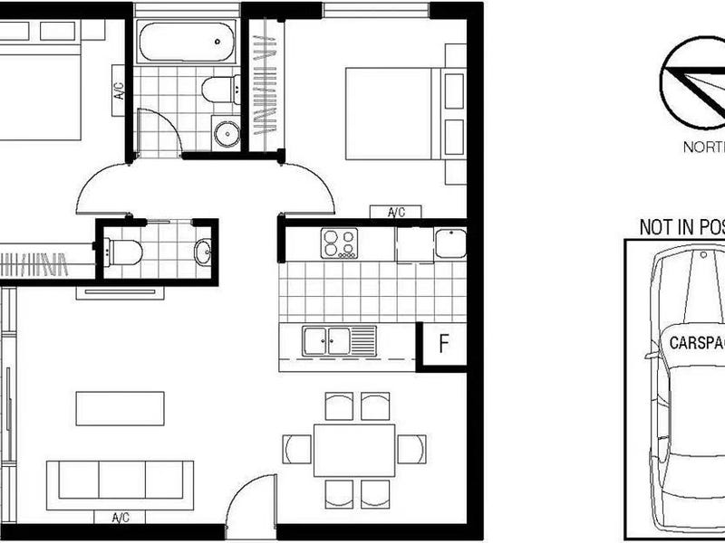 3506/483 Swanston Street, Melbourne, Vic 3000 - floorplan