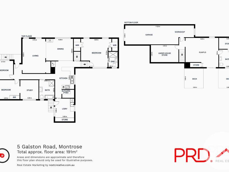 5 Galston Road, Montrose, Tas 7010 - floorplan
