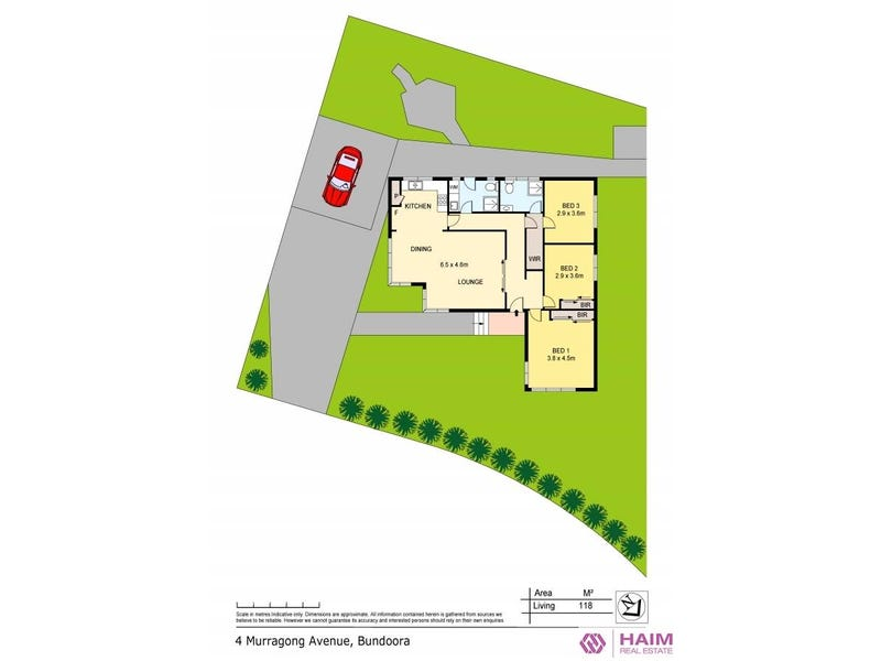 4 Murragong Avenue, Bundoora, Vic 3083 - floorplan