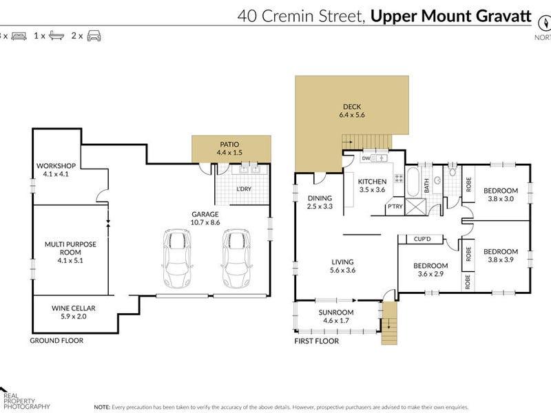 40 Cremin Street, Upper Mount Gravatt, Qld 4122 - floorplan