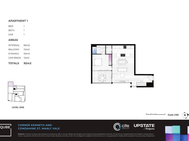 1/267-269 Condamine Street, Manly Vale, NSW 2093 - floorplan