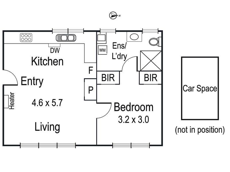 16/59-61 Green Street, Ivanhoe, Vic 3079 - floorplan