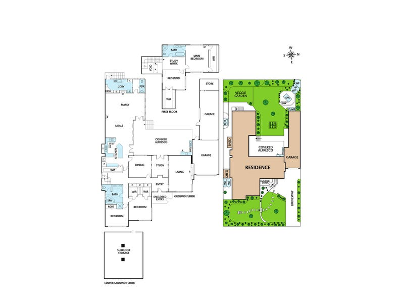 75 St Elmo Road, Ivanhoe, Vic 3079 - floorplan