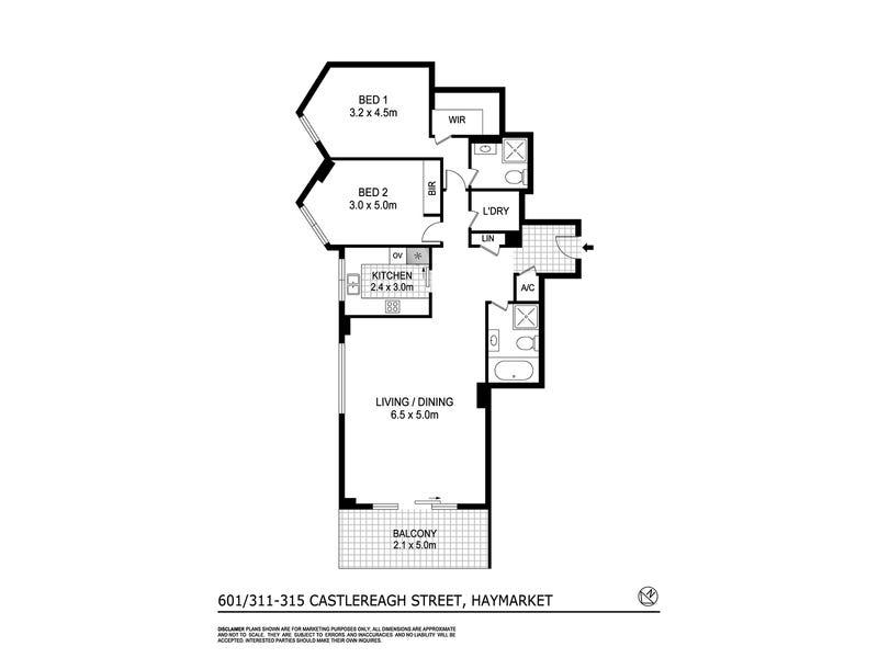 601/317 Castlereagh Street, Sydney, NSW 2000 - floorplan