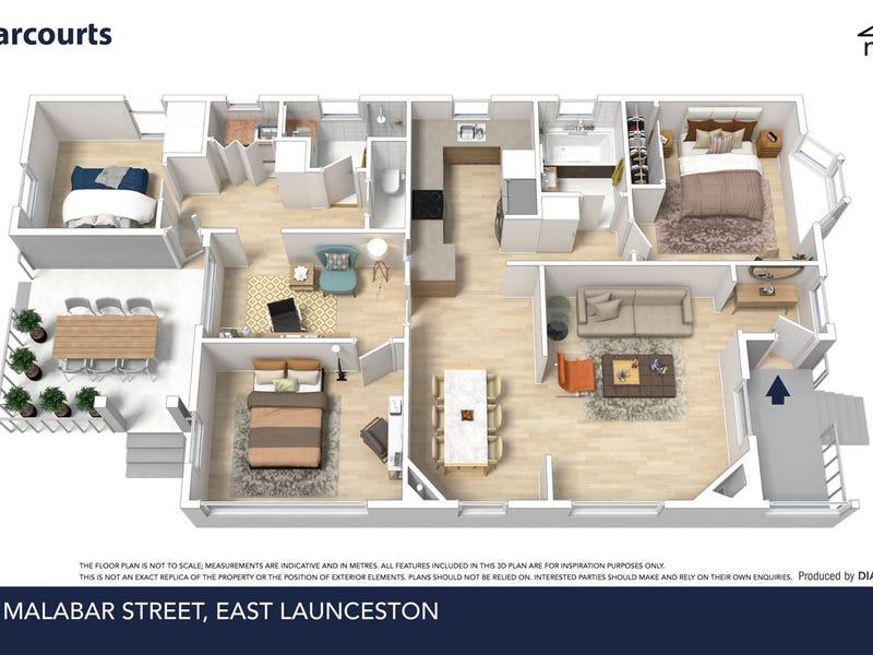 10 Malabar Street, East Launceston, Tas 7250 - floorplan