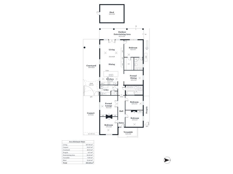 52 Eighth Ave, St Peters, SA 5069 - floorplan