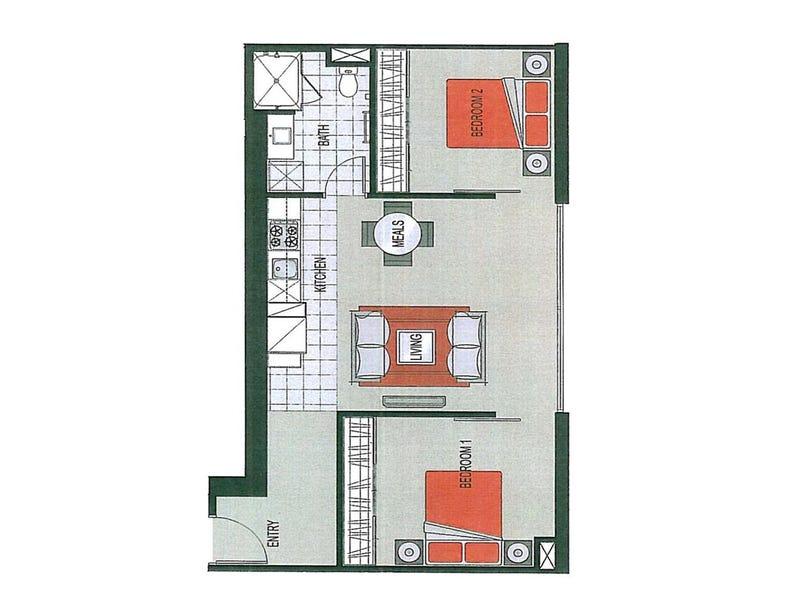 2706/8 Downie Street, Melbourne, Vic 3000 - floorplan