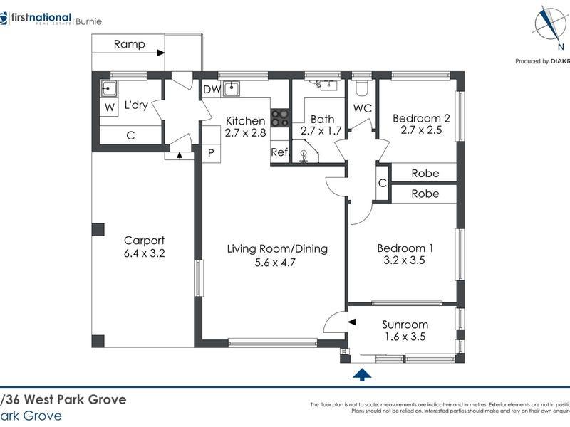 4/36 West Park Grove, Park Grove, Tas 7320 - floorplan