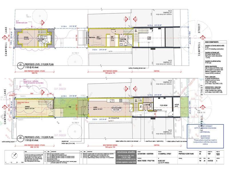 12 Campbell Street, Glebe, NSW 2037 - floorplan