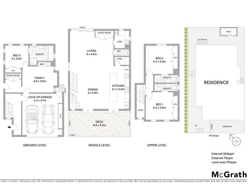 45 Hill Street, Spring Hill, Qld 4000 - floorplan