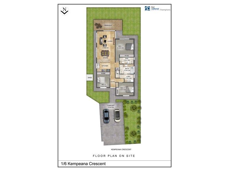 1/6 Kempeana Crescent, Araluen, NT 0870 - floorplan