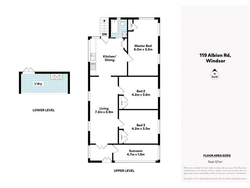 119 Albion Road, Windsor, Qld 4030 - floorplan