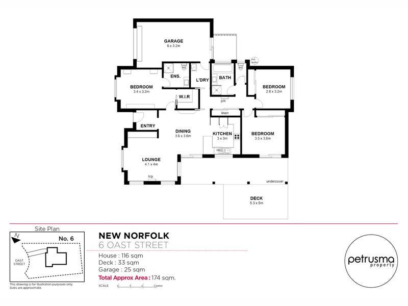 5 Oast Street, New Norfolk, Tas 7140 - floorplan