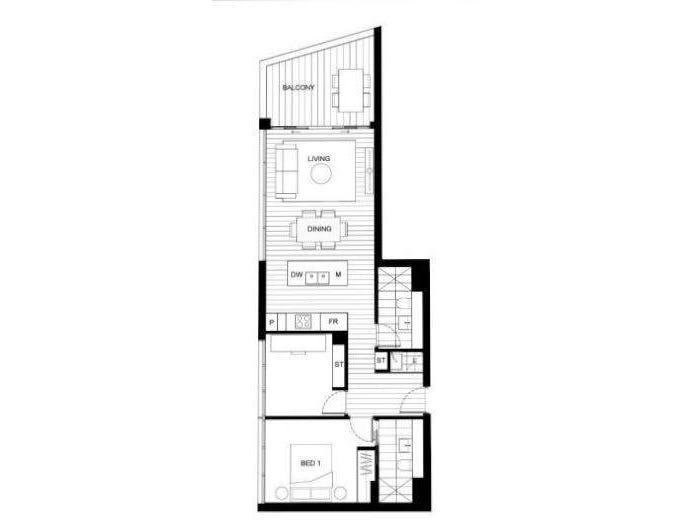Level 4/ 2  Oliver Road, Chatswood, NSW 2067 - floorplan