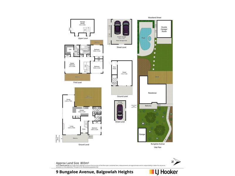 9 Bungaloe Avenue, Balgowlah Heights, NSW 2093 - floorplan