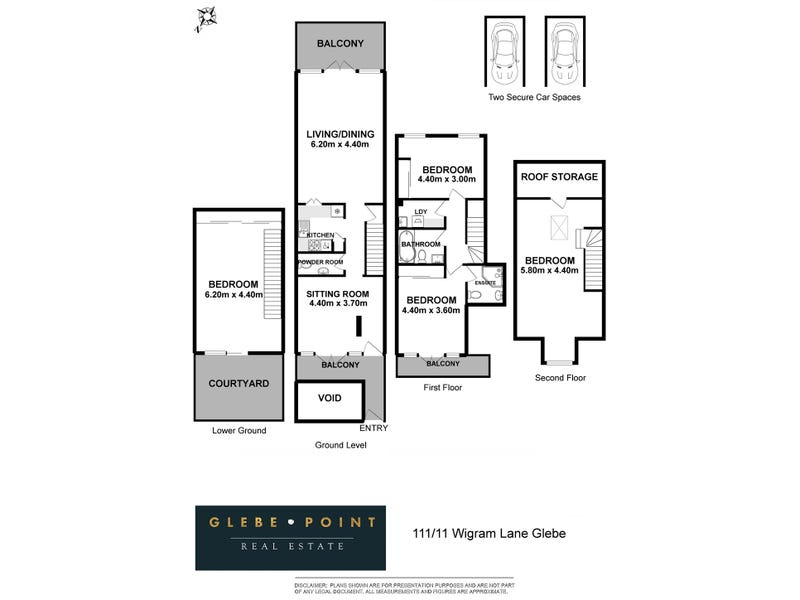 111/11 Wigram Lane, Glebe, NSW 2037 - floorplan