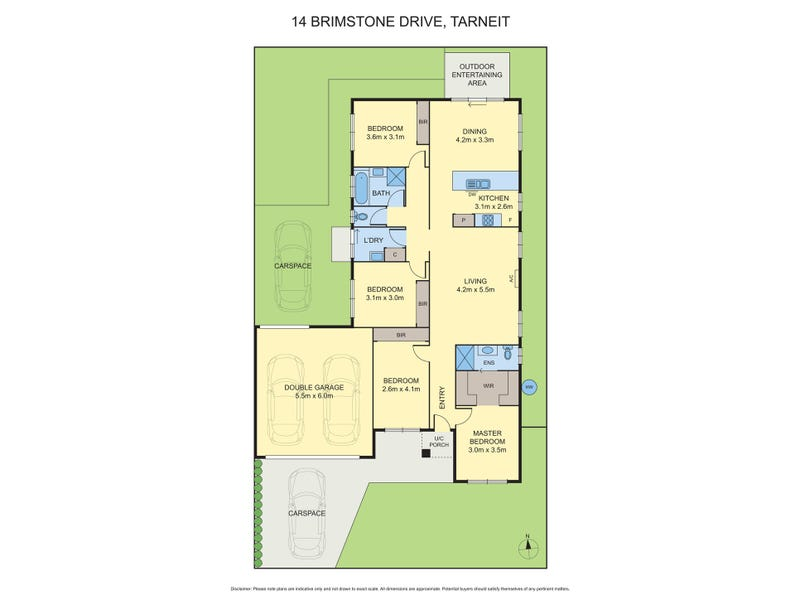 14 Brimstone Drive, Tarneit, Vic 3029 - floorplan