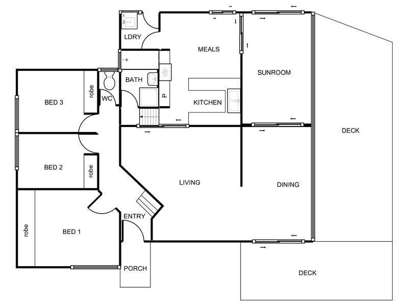 36 Bainbridge Close, Chisholm, ACT 2905 - floorplan