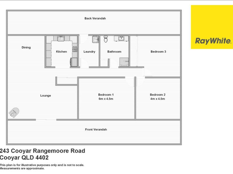 243 Cooyar Rangemoore Road, Cooyar, Qld 4402 - floorplan