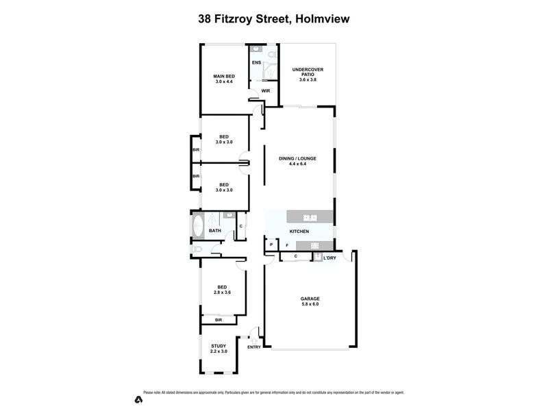 38 Fitzroy Street, Holmview, Qld 4207 - floorplan