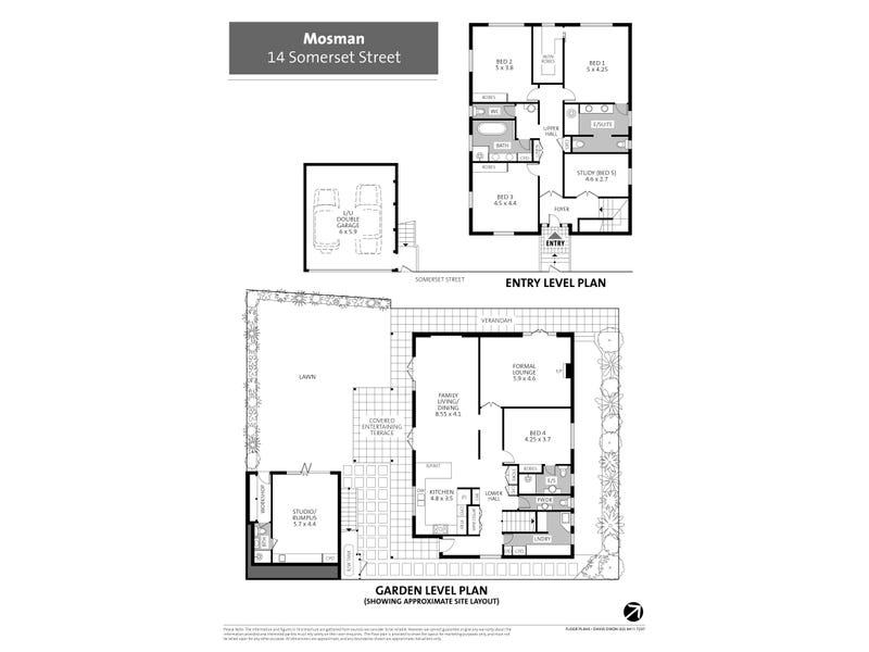 14 Somerset Street, Mosman, NSW 2088 - floorplan
