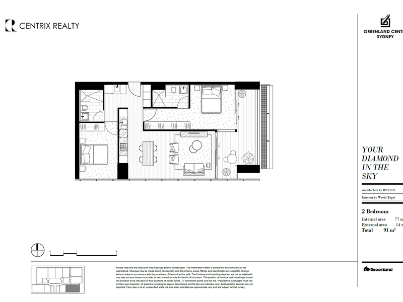 Level 78/115 Bathurst Street, Sydney, NSW 2000 - floorplan