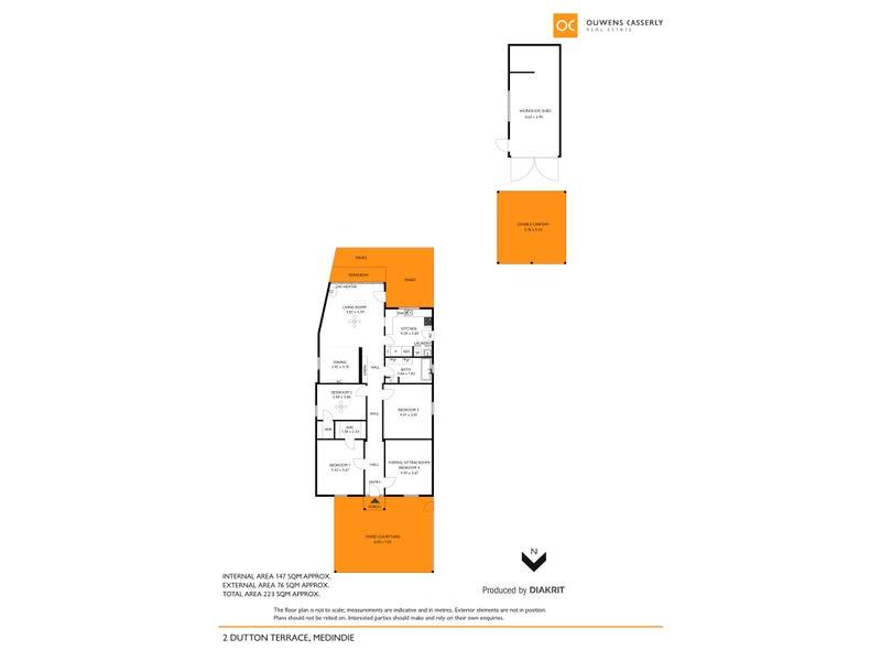 2 Dutton Terrace, Medindie, SA 5081 - floorplan