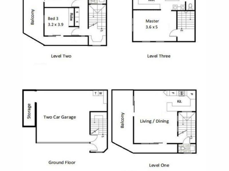 29 Terrace Street, Spring Hill, Qld 4000 - floorplan
