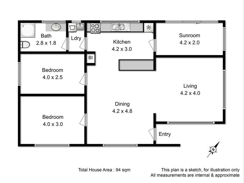 7 Osborne Esplanade, Kingston Beach, Tas 7050 - floorplan