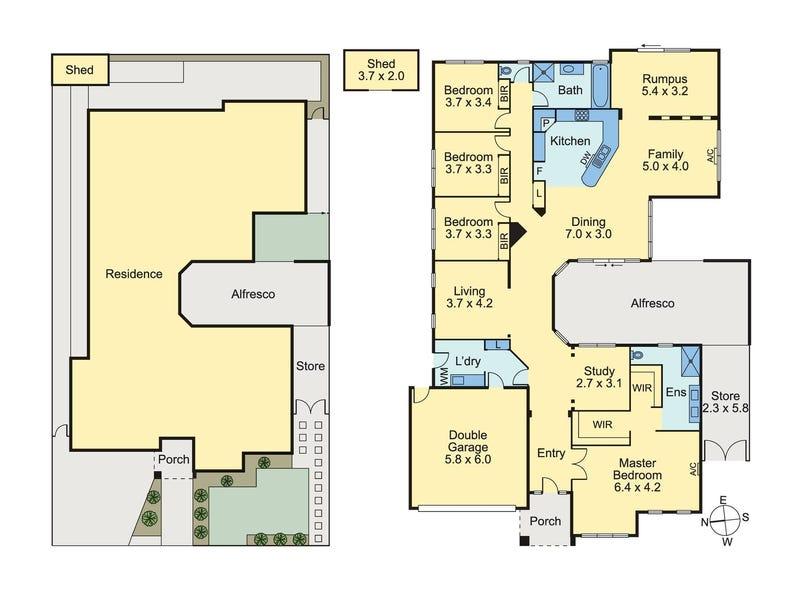 56 Riverdale Boulevard, Mernda, Vic 3754 - floorplan