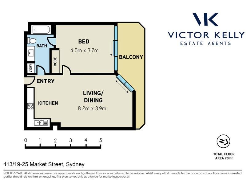 113/19-25 Market Street, Sydney, NSW 2000 - floorplan