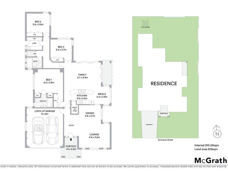 42 Scrivener Street, O'Connor, ACT 2602 - floorplan