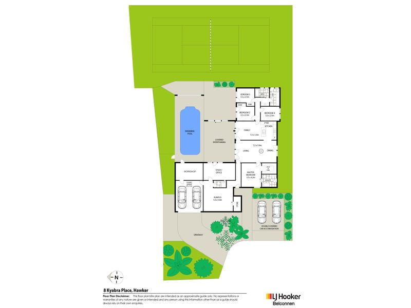 8 Kyabra Place, Hawker, ACT 2614 - floorplan