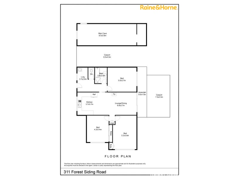 311 Forest Siding Road, Middle Arm, NSW 2580 - floorplan