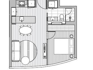 5702/224 La Trobe Street, Melbourne, Vic 3000 - floorplan