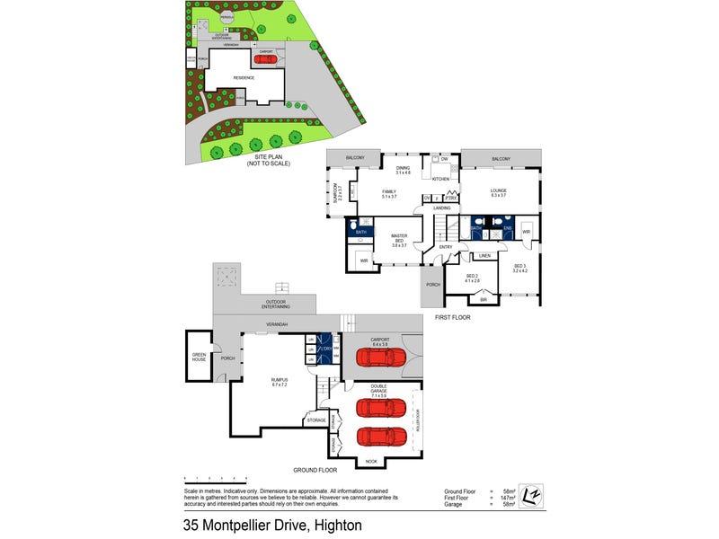 35 Montpellier Drive, Highton, Vic 3216 - floorplan