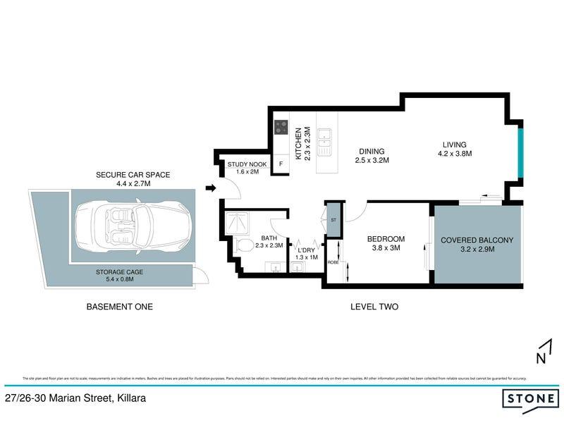 27/26-30 Marian Street, Killara, NSW 2071 - floorplan